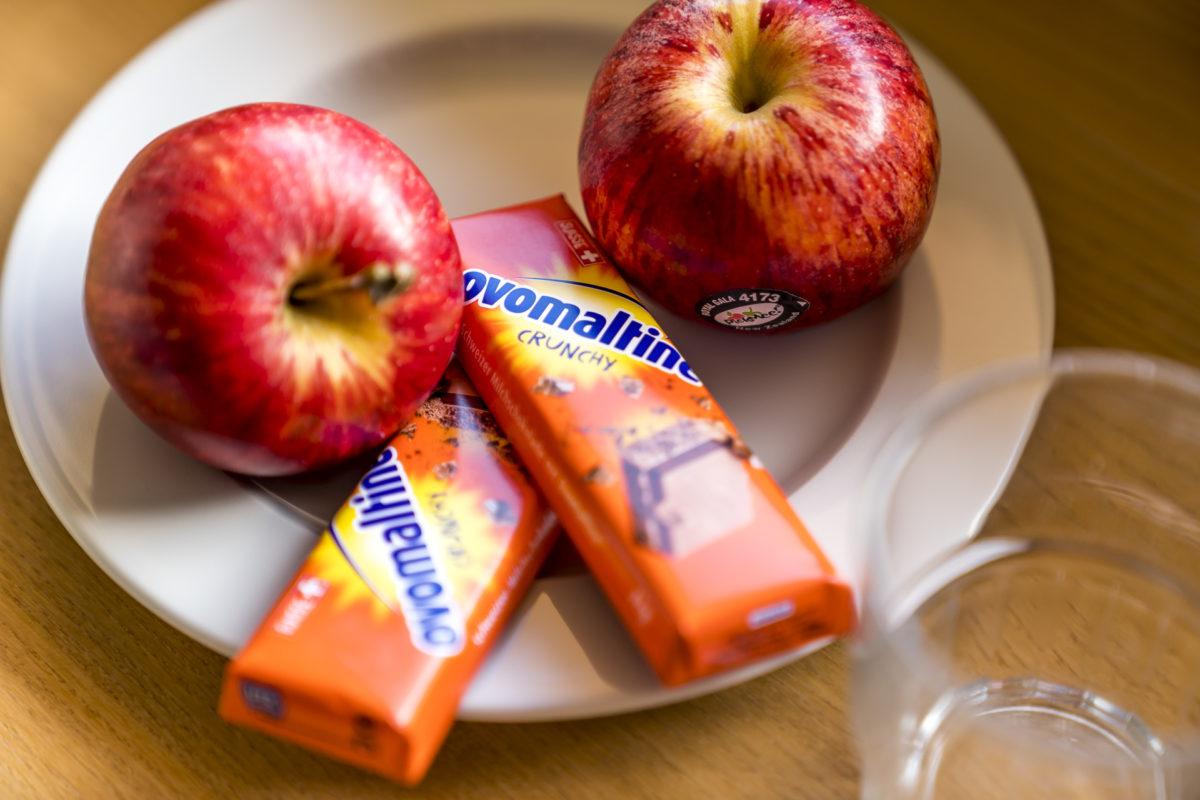 Apfel Ovomaltine