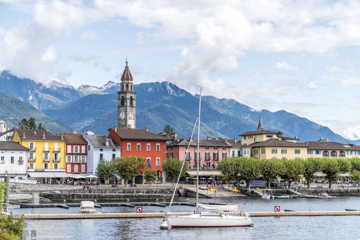 Ascona Postkarte