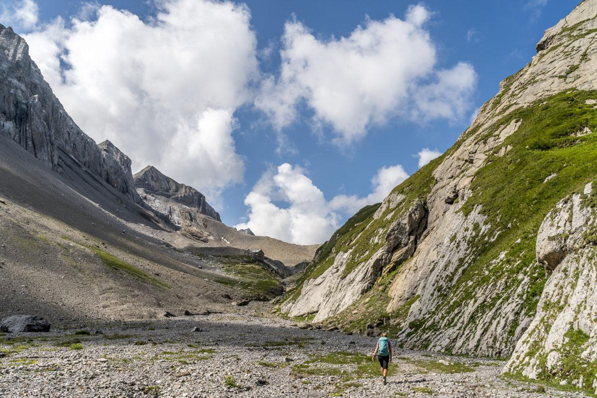 Aufstieg Wildhornhütte
