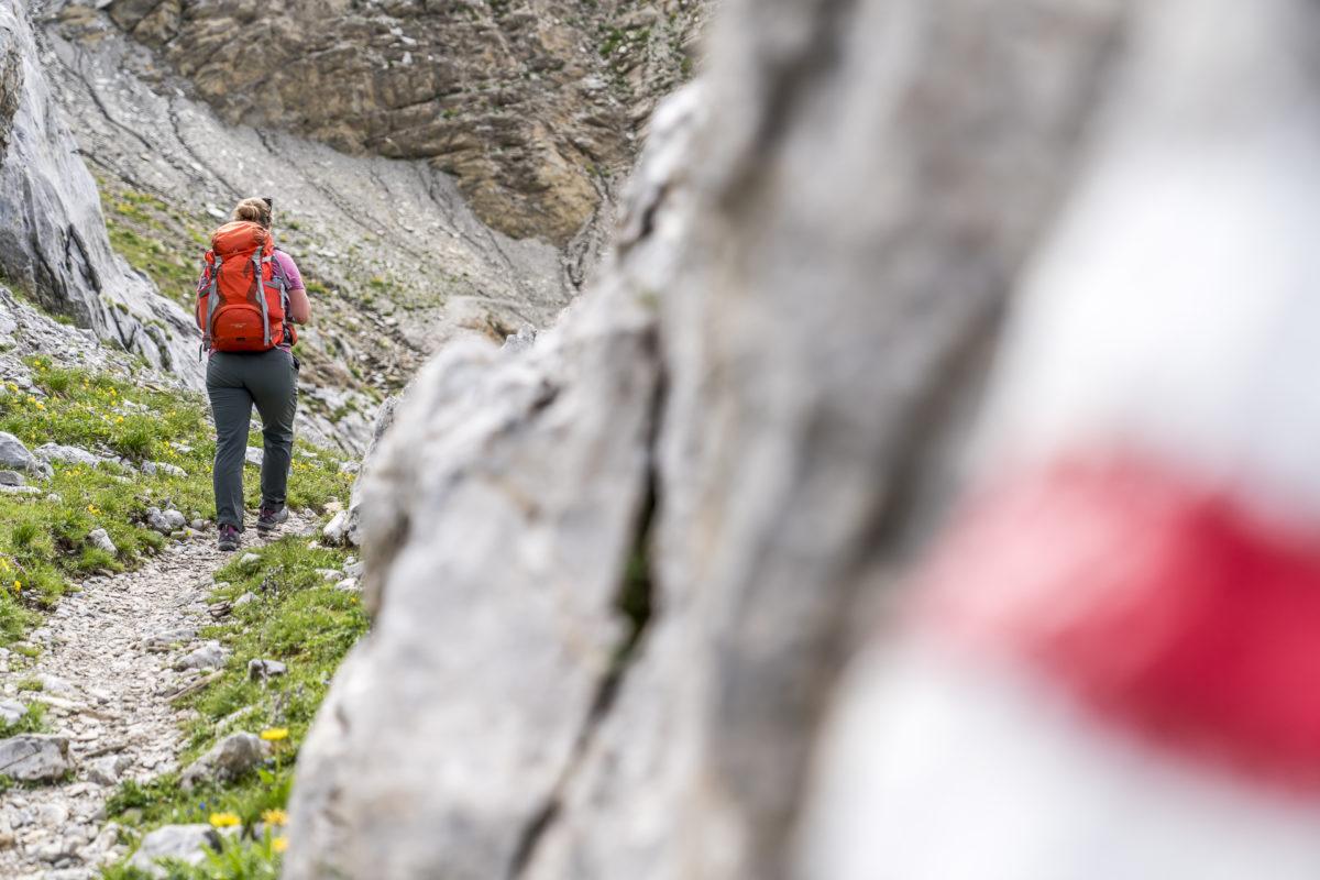 Aufstieg Wildstrubelhütte