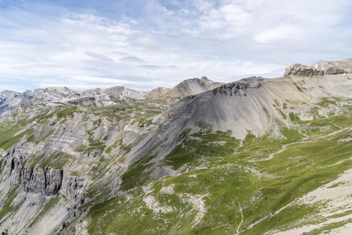 Aussicht Bella Lui Gipfel