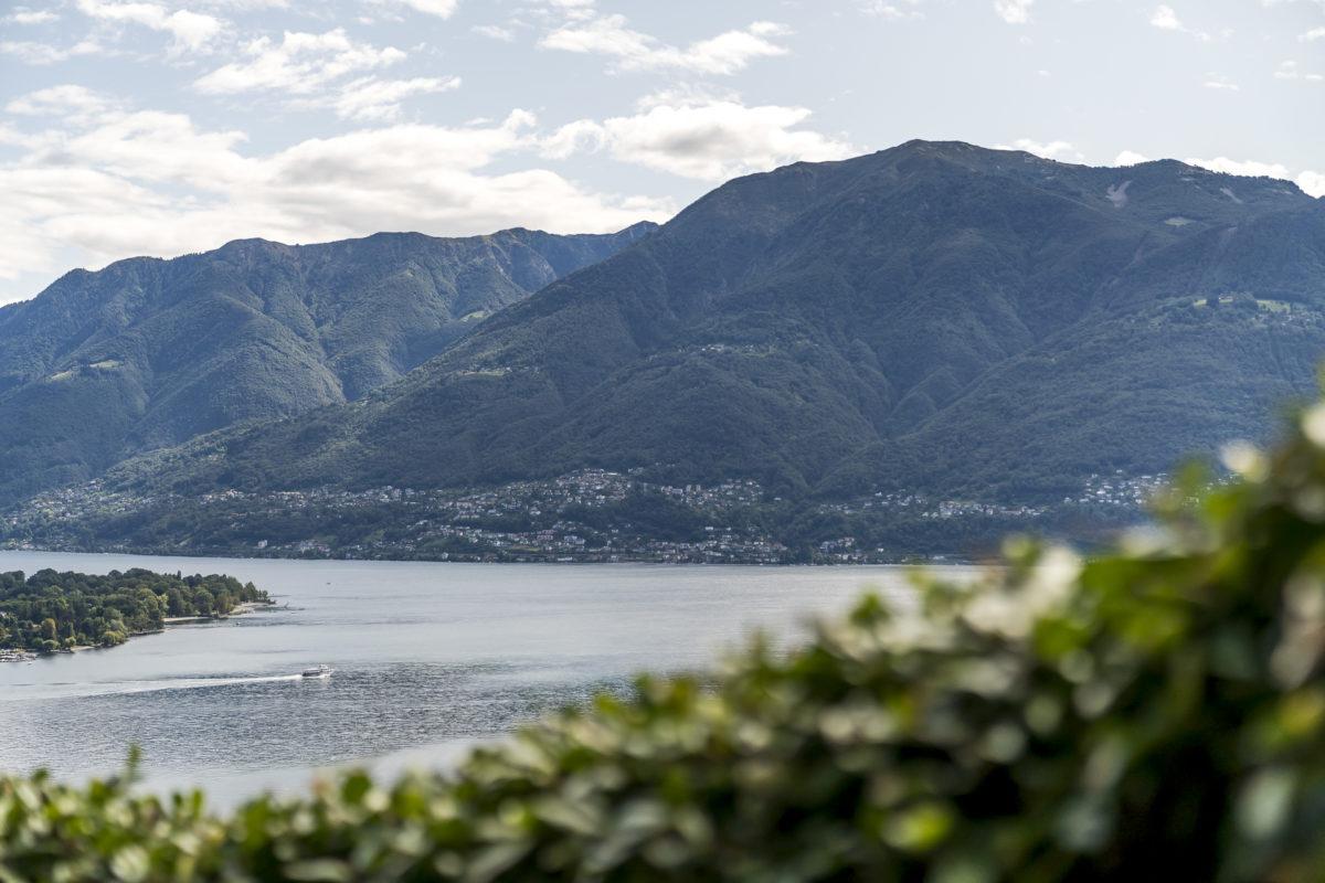 Aussicht Monte Verita
