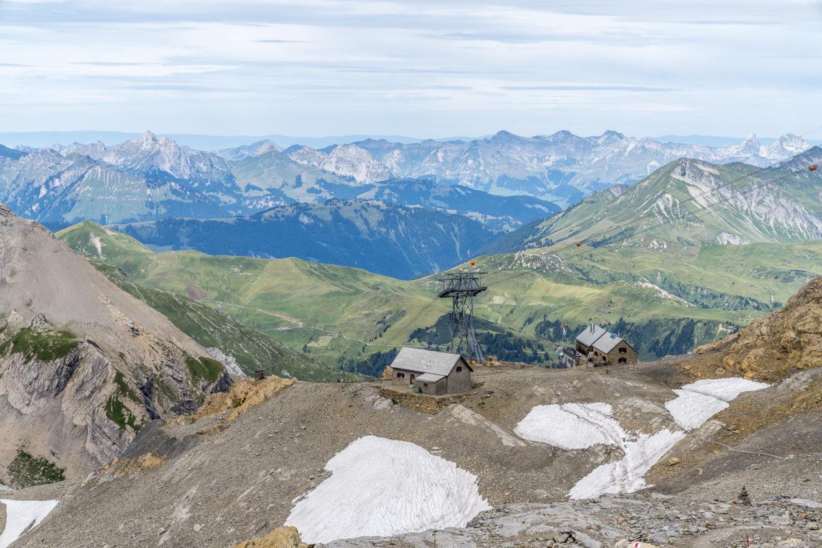 Aussicht Wildstrubelhütte