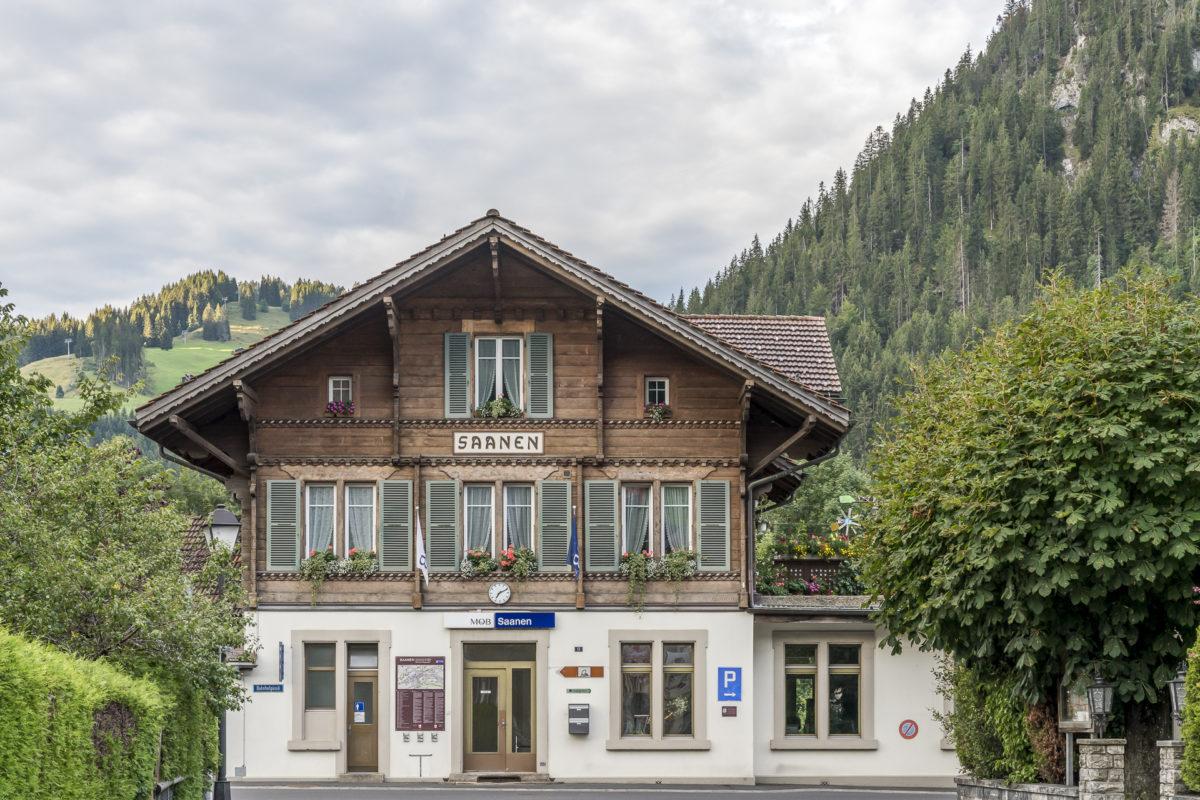 Bahnhof Saanen