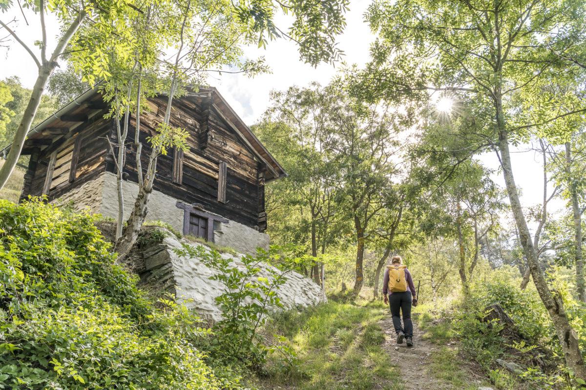 Bietschtal Wallis Wanderung