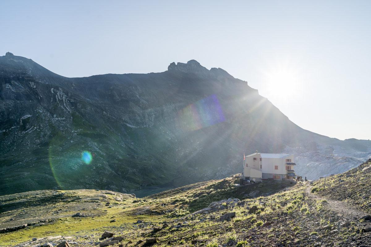 Cabane des Audannes Wallis