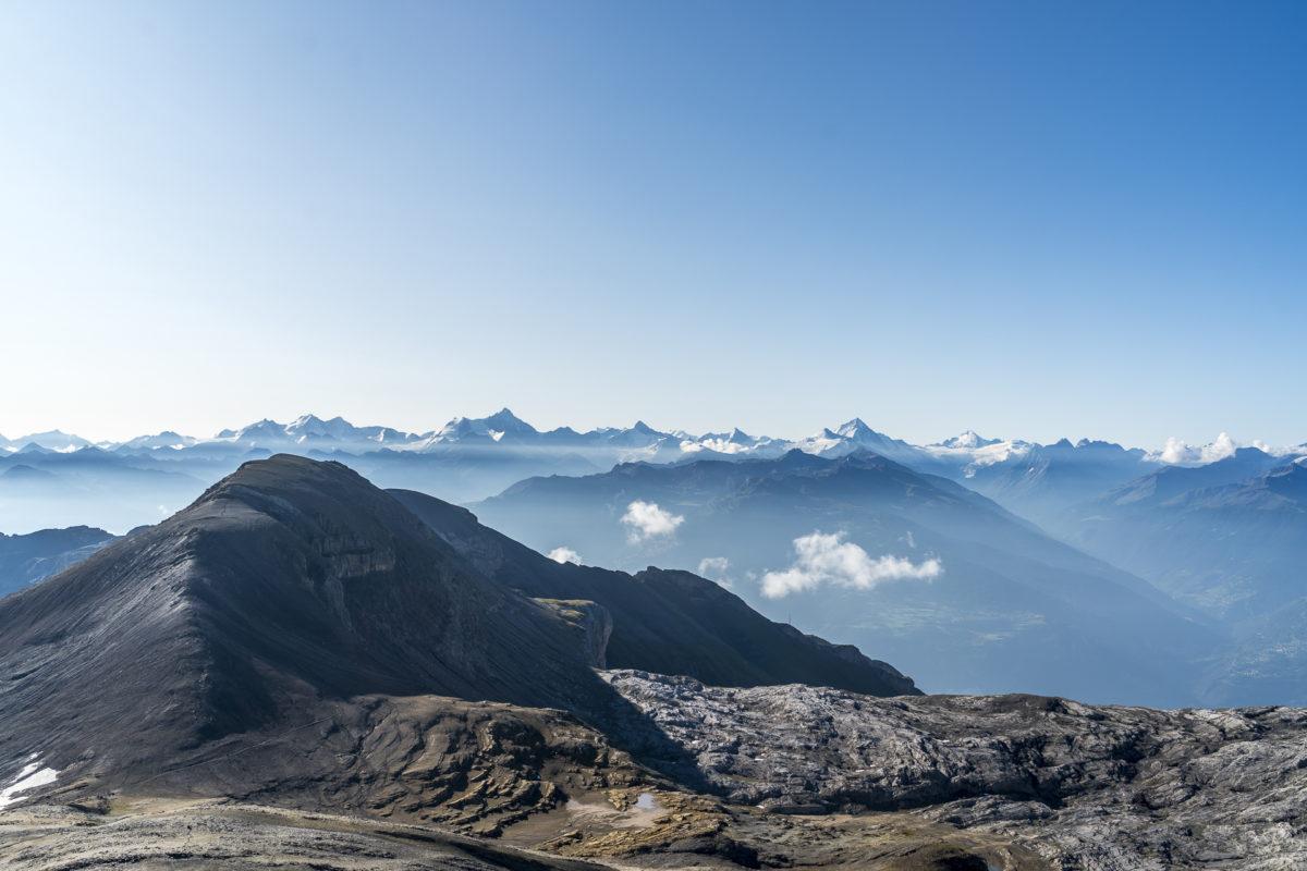 Col des Audannes Panorama