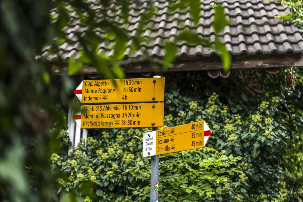 Gambarogno Wanderung