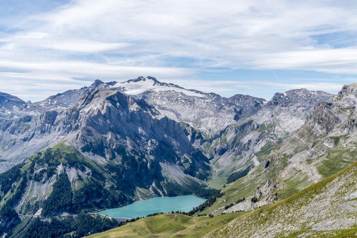 Lac de Tseuzier Panorama