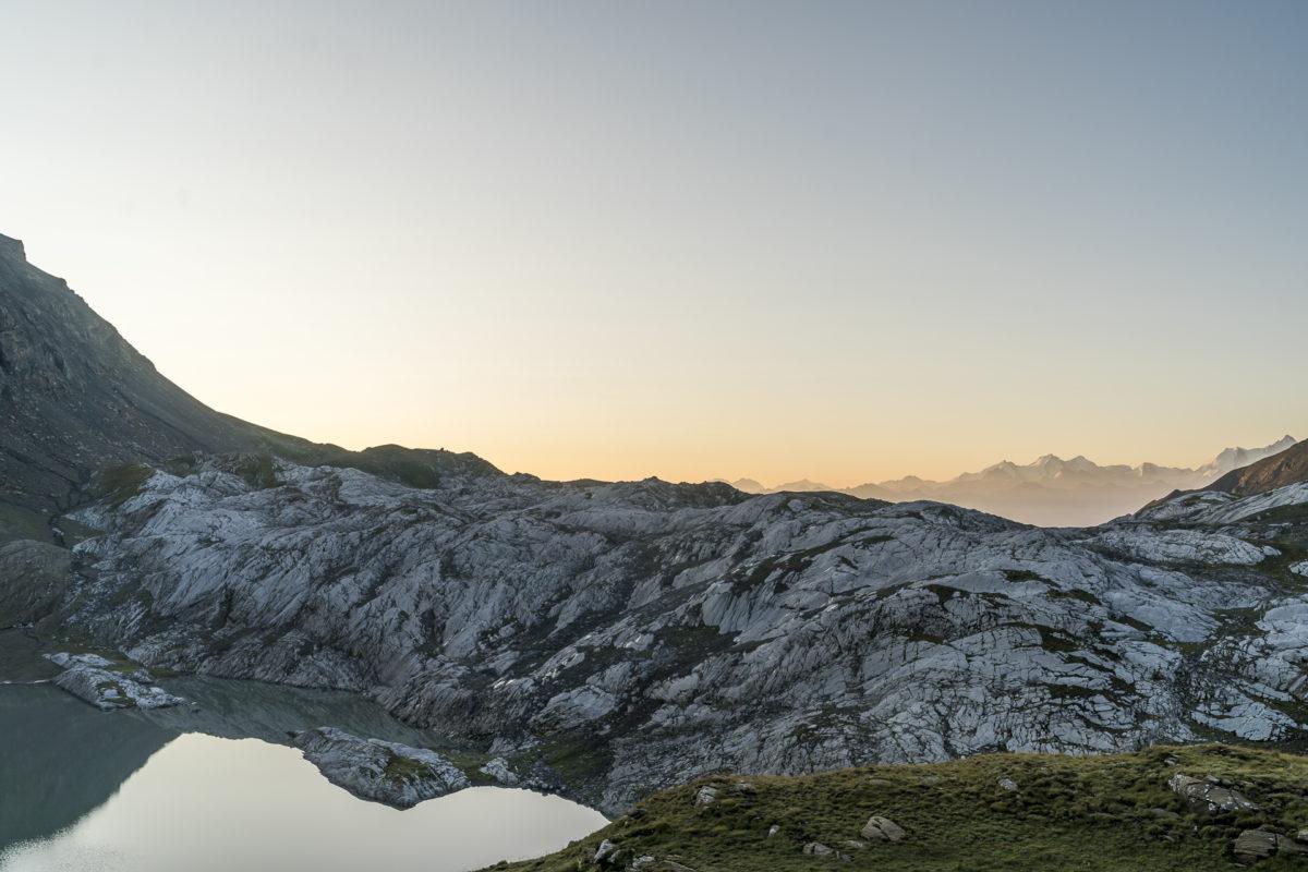 Lac des Audannes Morgenstimmung