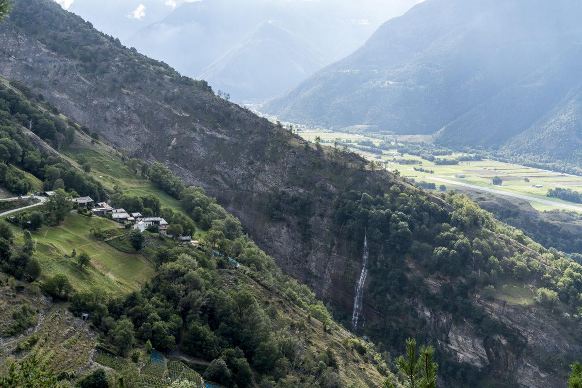 Lötschberg Südrampe Wandern