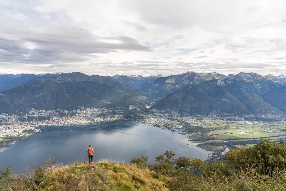 Monte Gambarogno Aussicht
