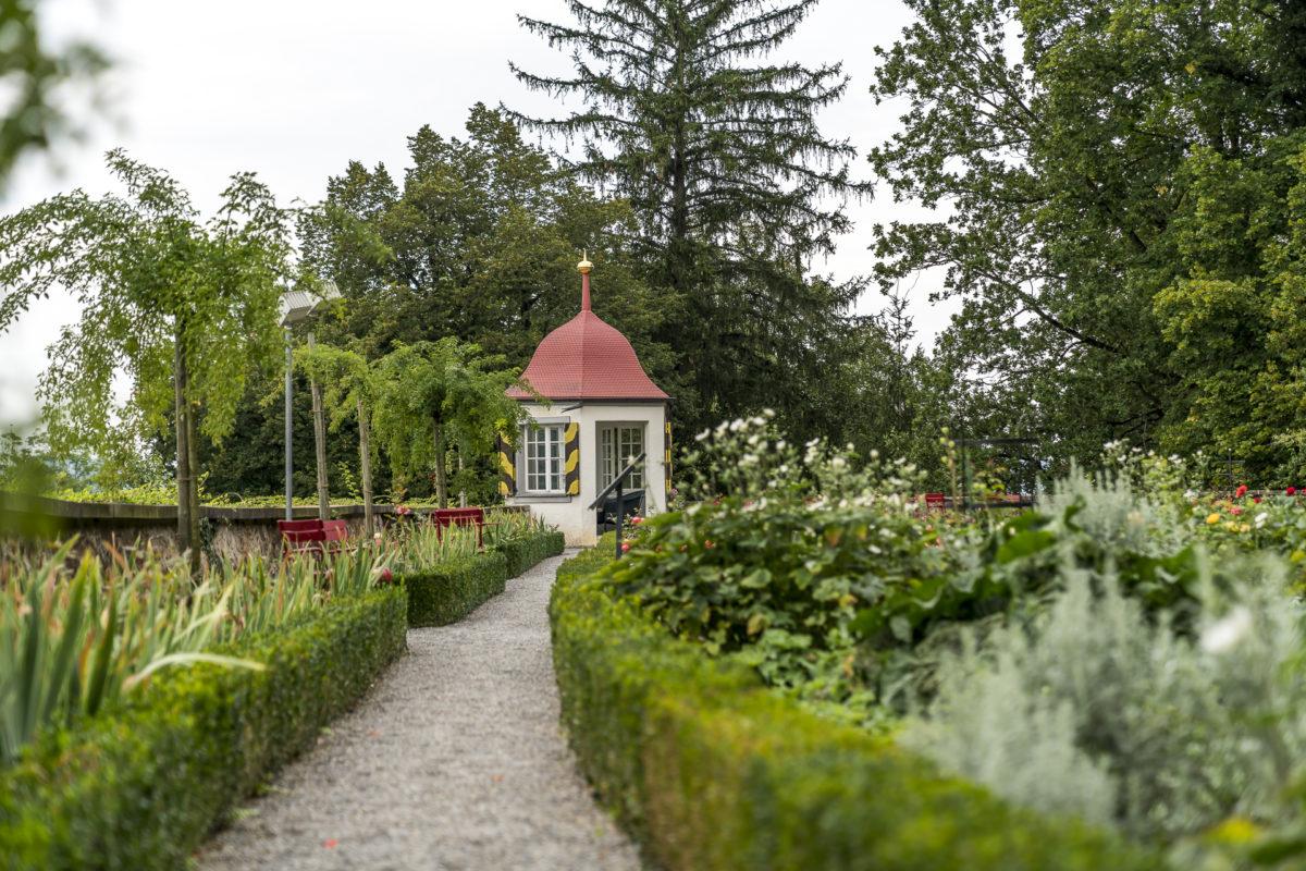 Rosengarten Schloss Heidegg
