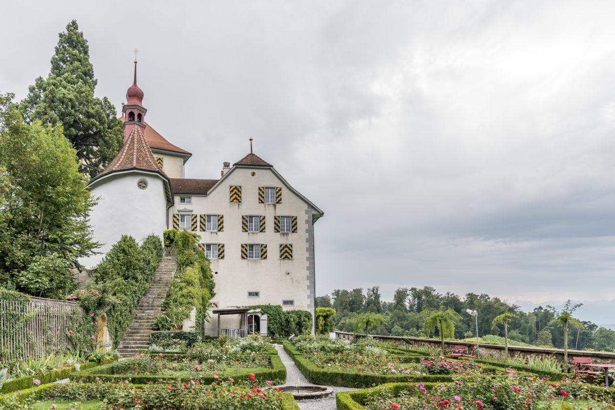 Schloss Heidegg Garten