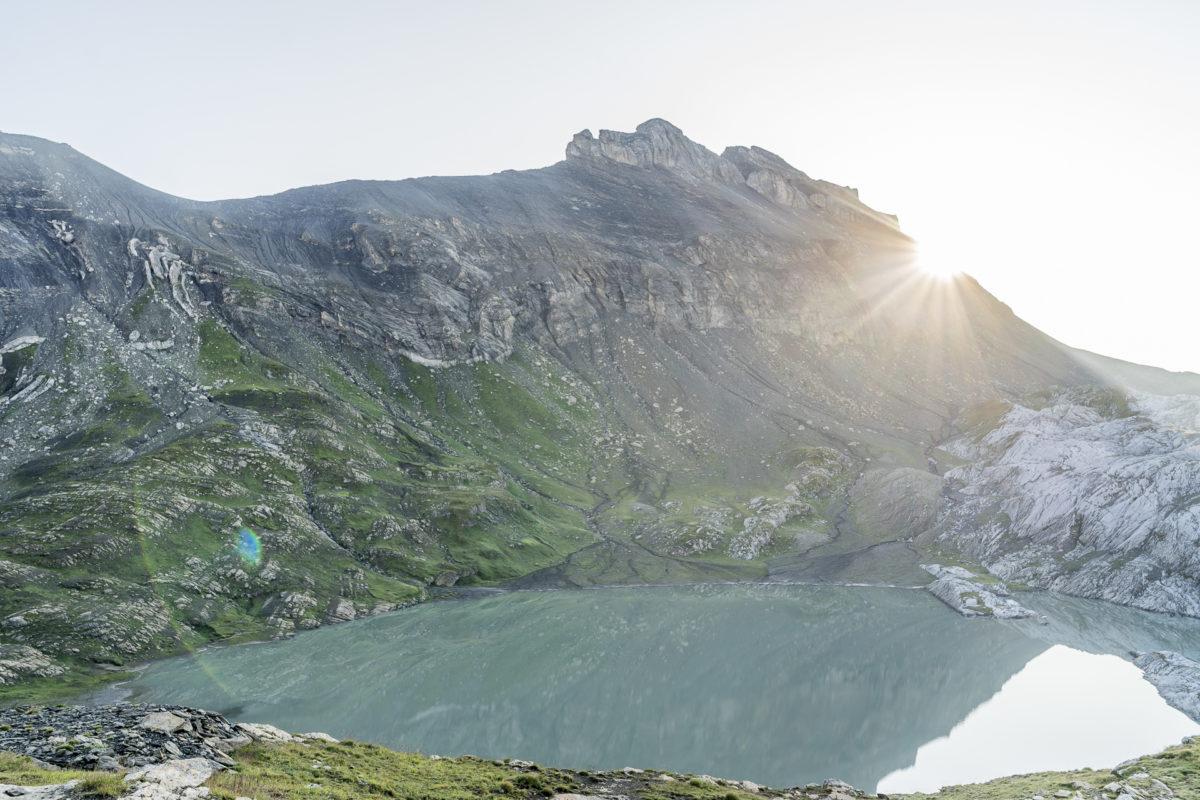 Sonnenaufgang Lac des Audannes