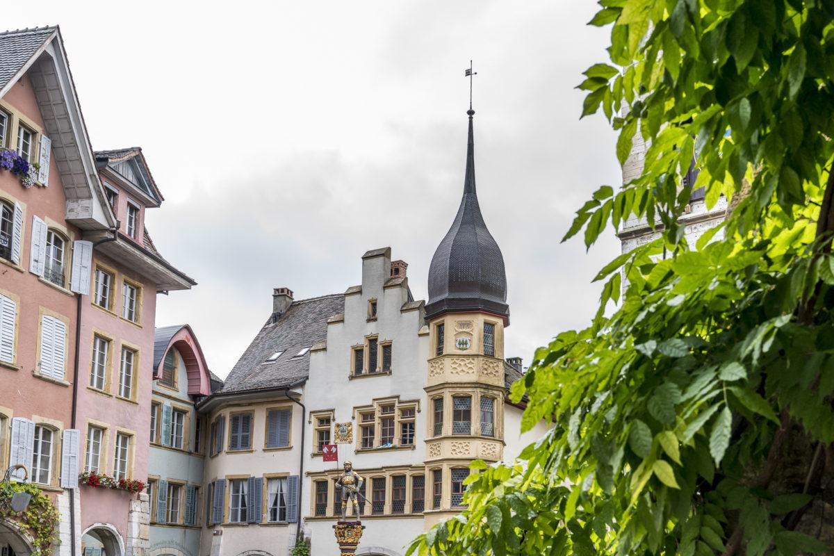 Altstadt Biel Fassaden