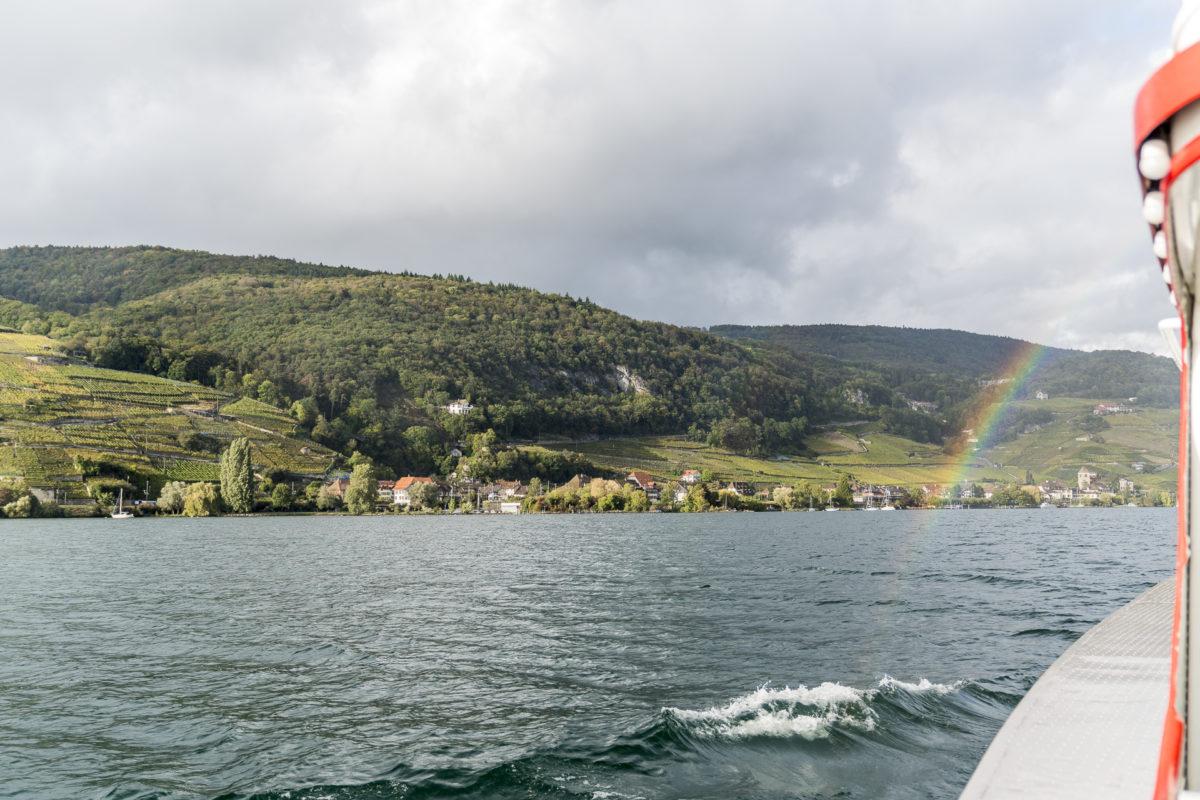 Bielersee Regenbogen