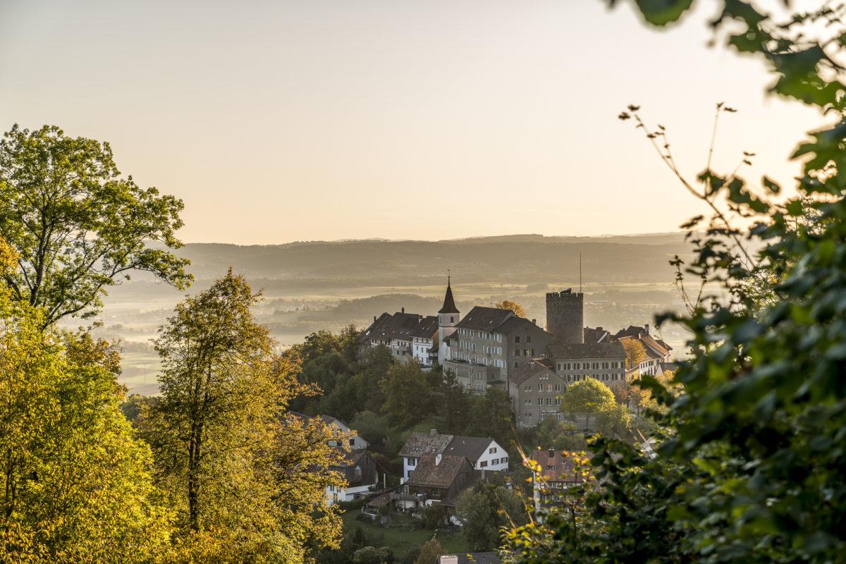 Regensberg Jura Höhenweg