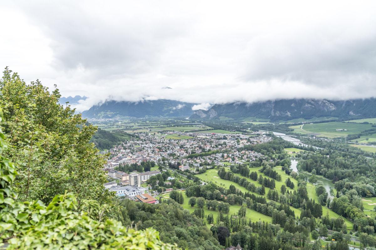 Aussicht Schloss Wartenstein