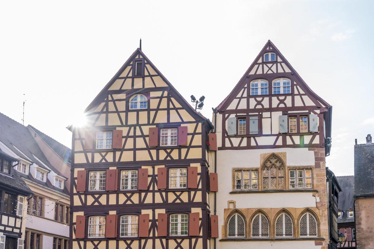 Colmar Altstadtbauten