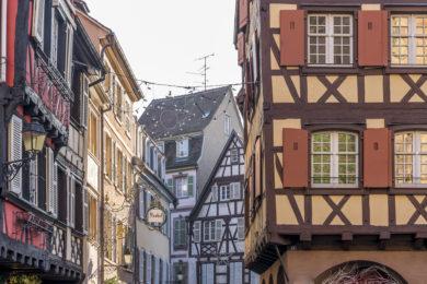 Colmar Fachwerkbauten Altstadt