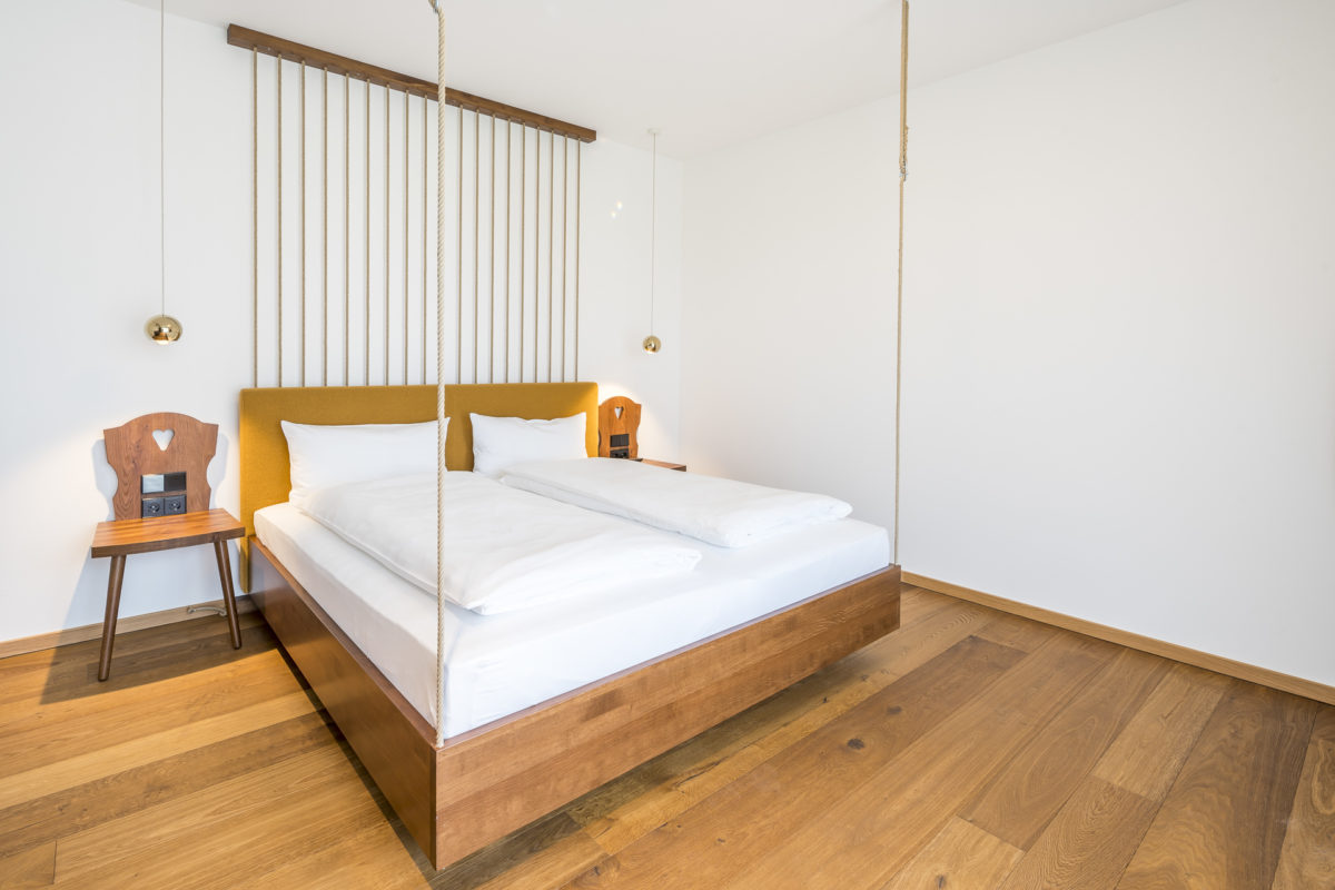 Schlafzimmer Waldfunkeln Lodge