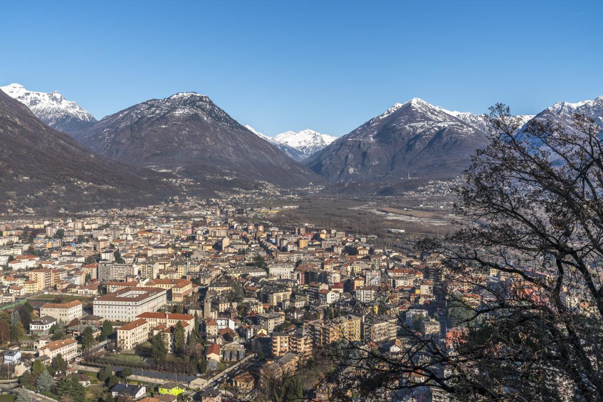 Aussicht Monte Calvario
