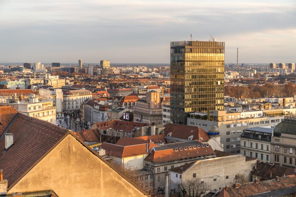Lotrscak Turm Aussicht Zagreb