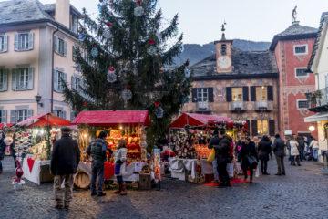 Schöner Weihnachtsmarkt im Piemont: der Mercatini di Natale in Santa Maria Maggiore