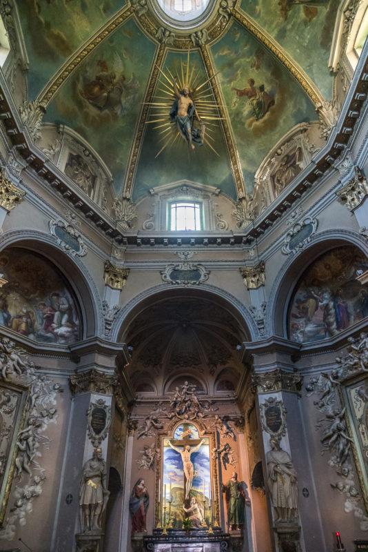 Sacro Monte Domodossola Kirche