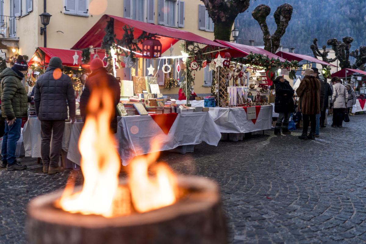 Feuerelement Weihnachtsmarkt