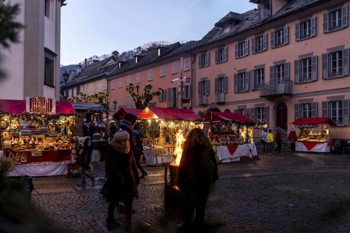 Weihnachtsmarkt im Piemont