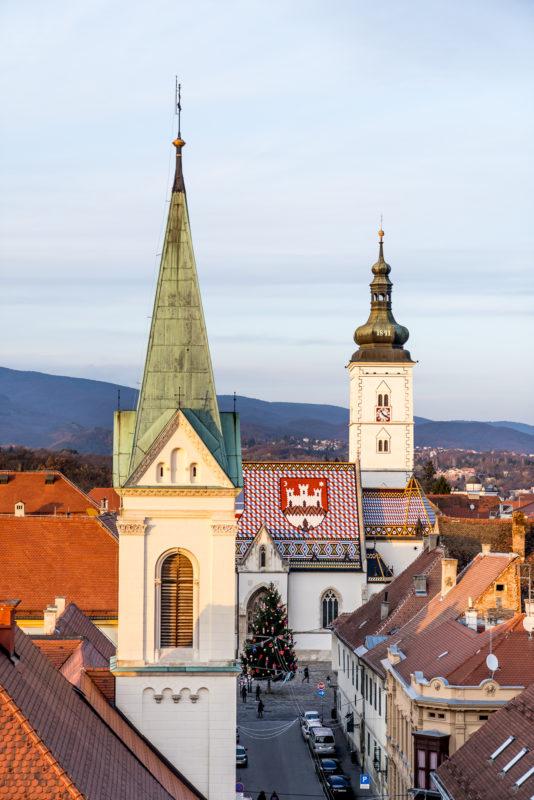 Zagreb Altstadt