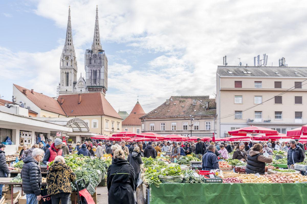 Zagreb Dolac Markt