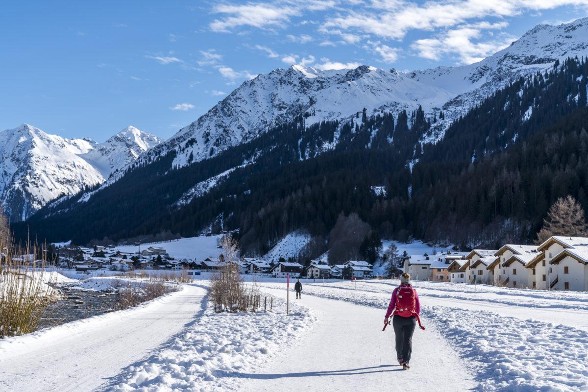 Davos Klosters Winterwandern