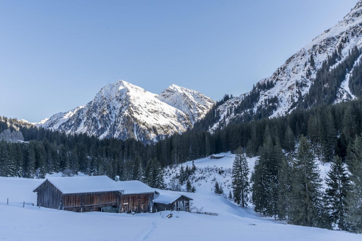 Winterwanderung Garfiun