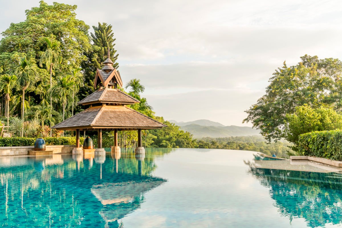 Anantara Golden Triangle Pool