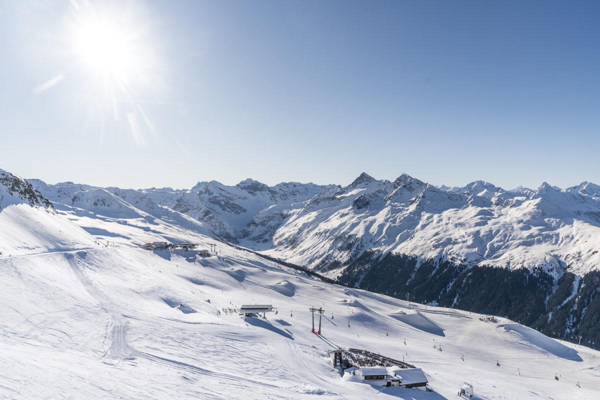 Jakobshorn Skigebiet