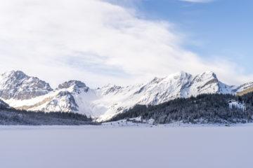 Winterausflug an den Oeschinensee - unterwegs auf dem UNESCO Ice Walk