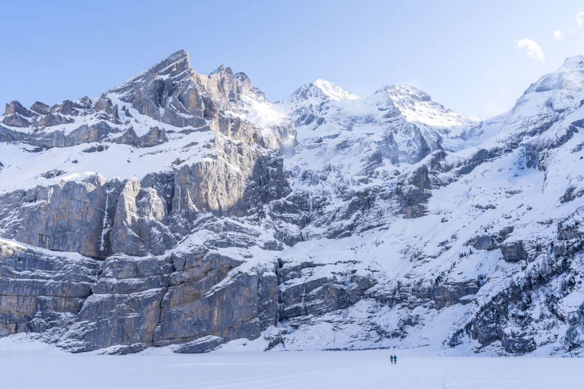 Oeschinensee Unesco Ice Walk
