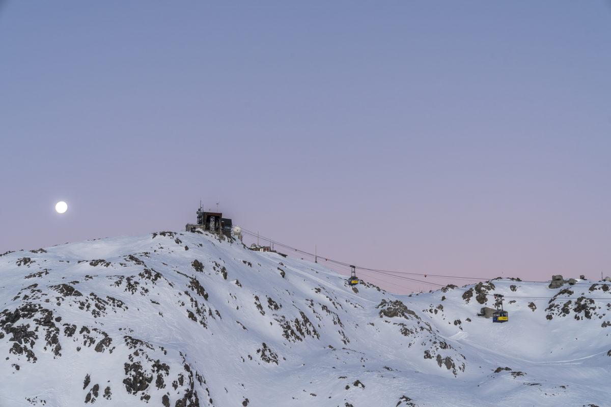 Parsenn Early Bird Skifahren
