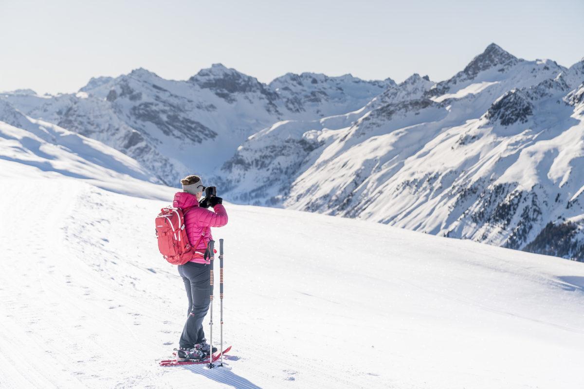 Schneeschuhlaufen Davos Klosters