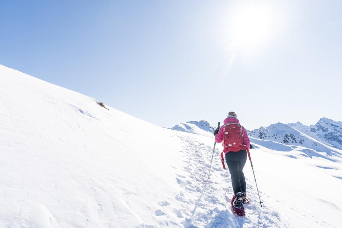 Schneeschuhtour Davos Jakobshorn