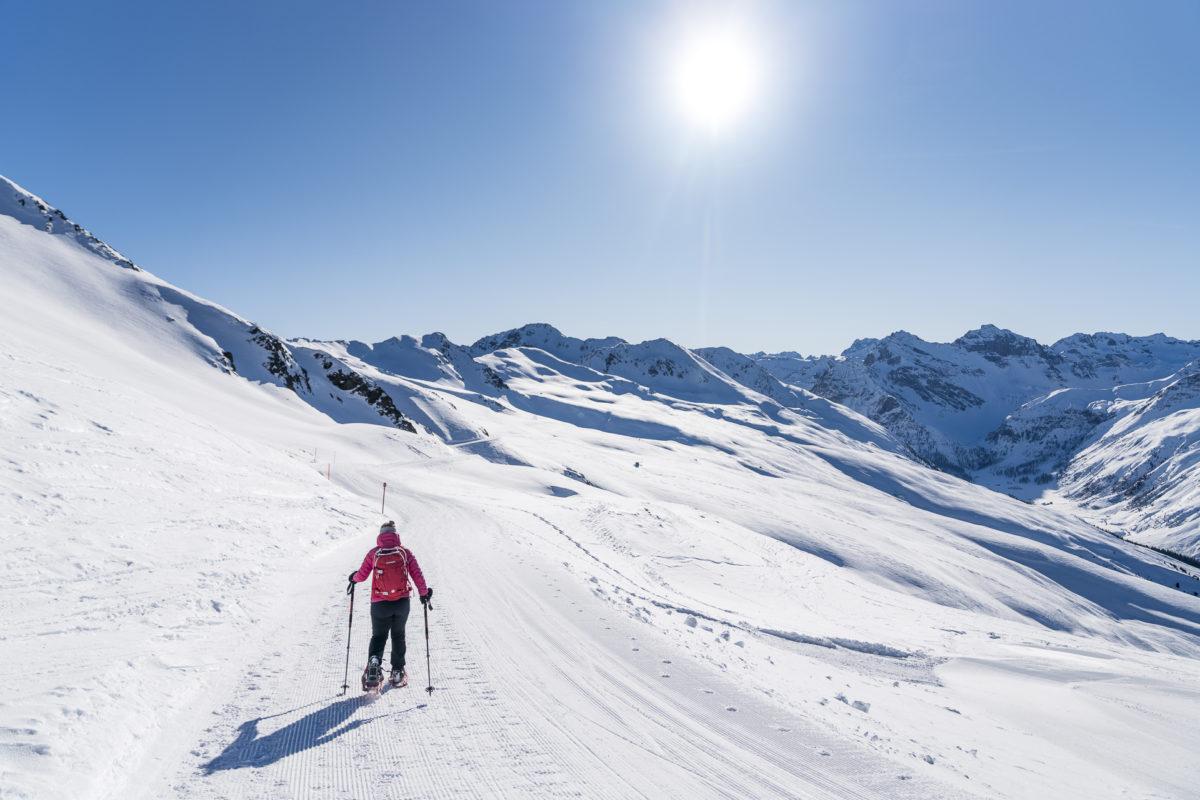 Schneeschuhtour Jakobshorn Rossboden