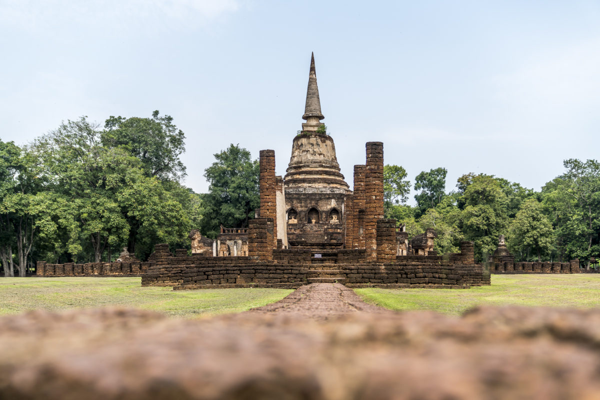 Sri Satchanalai Historic Park Nordthailand