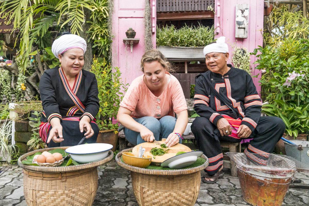 Tai Lue Community Nordthailand