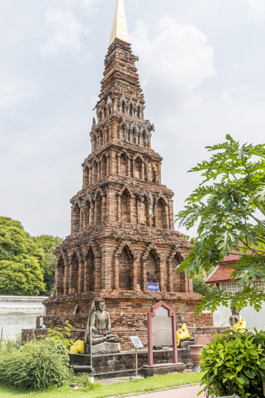 Wat Phra That Hariphunchai Lamphun Stupa