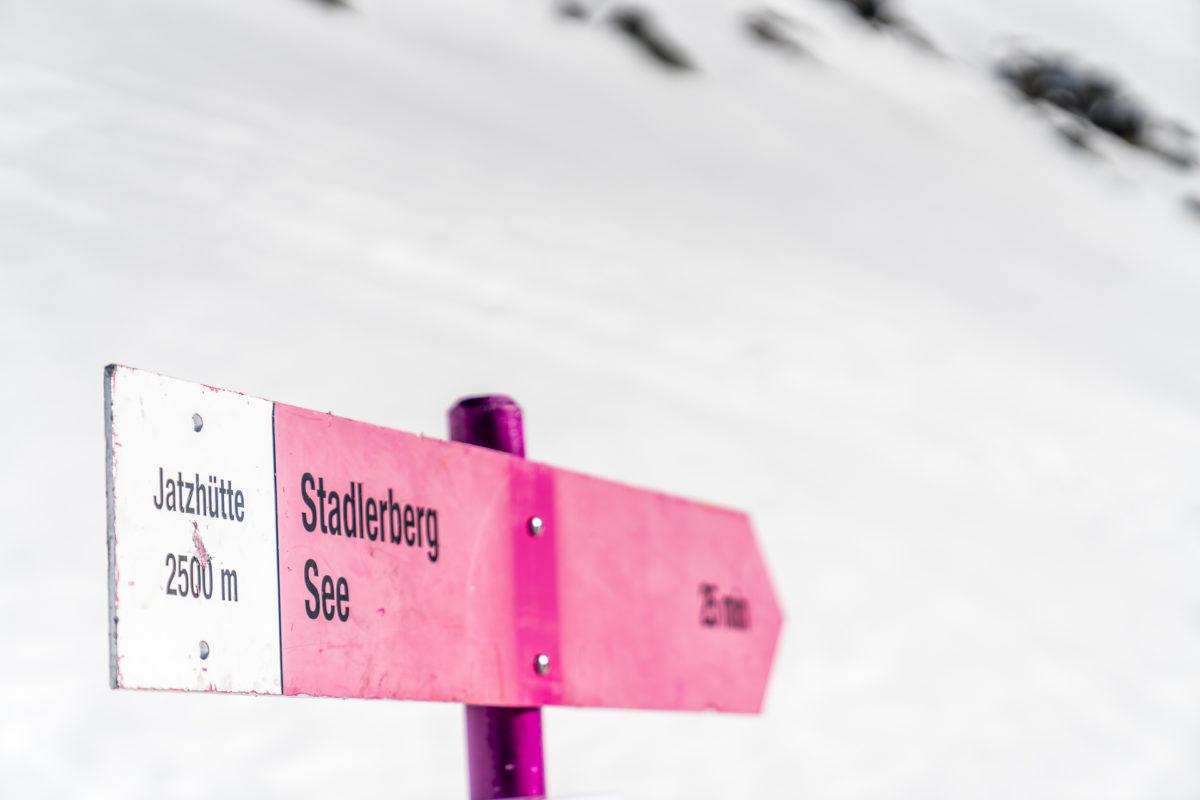 Winterwandern Schneeschuhtour Davos Klosters