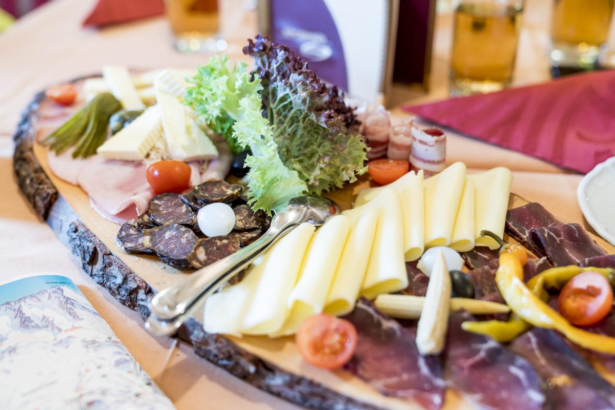 Alp Trida Plättli im Bergerstaurant
