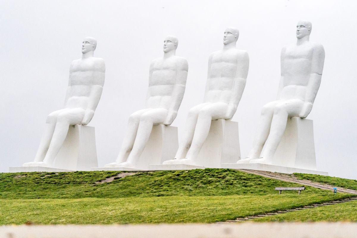 Esbjerg Strand Statuen